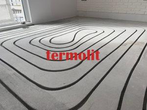 ogrzewanie podłogowe frezowane