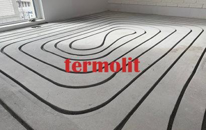 Ogrzewanie podłogowe frezowanie